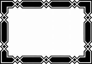 Black Border Frame Transparent Background   PNG Mart