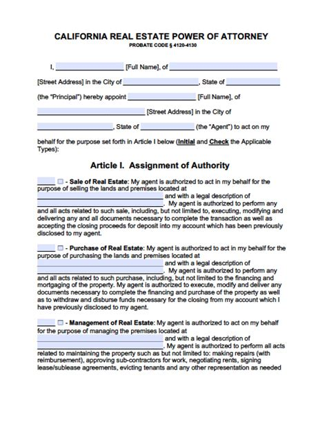 durable power of attorney form for california california minor child power of attorney form power of