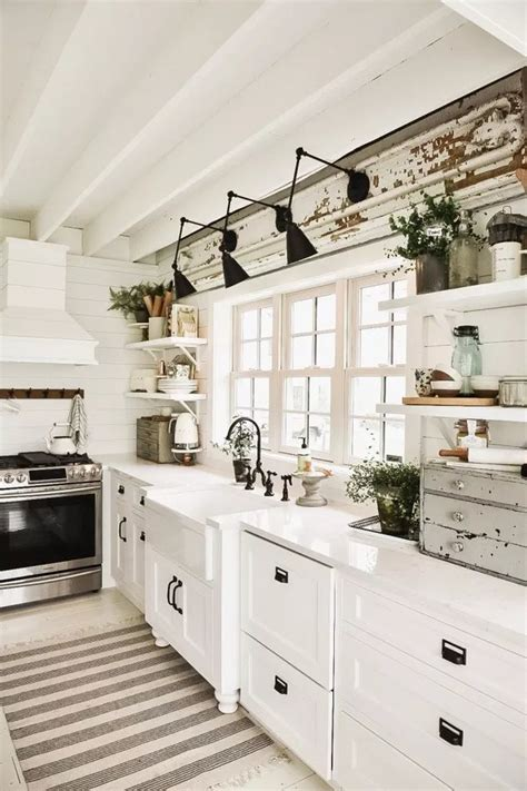 farmhouse kitchen lighting ideas hunker