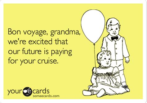 bon voyage funny quotes quotesgram