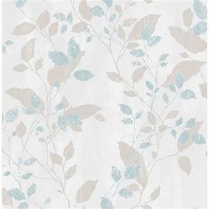 Graham and Brown Boutique Vermeil Leaf Wallpaper
