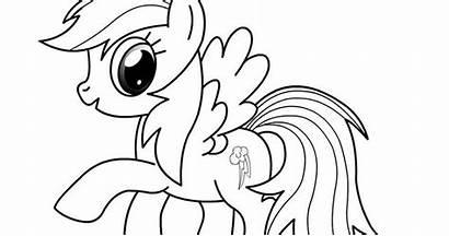 Gambar Mewarnai Kuda Kartun Mewarna Poni Untuk