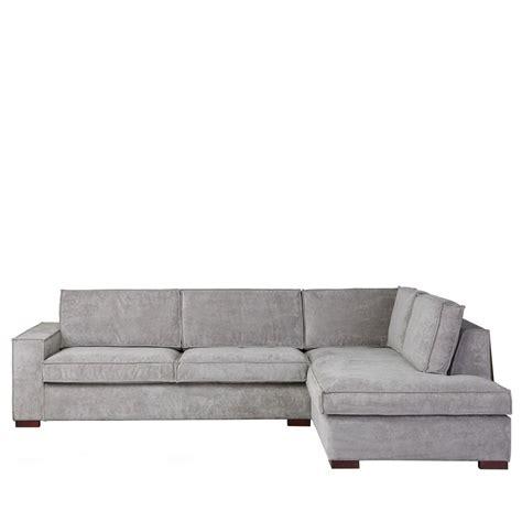 mini canapé d angle canapé d 39 angle à droite tissu côtelé by drawer