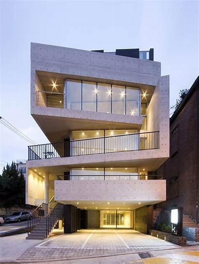 Facade Articulation Apartment Folded Architecture Designed Works
