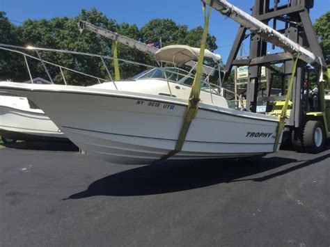 Trophy Boats Models by Trophy 2002 Walkaround Boats For Sale Boats