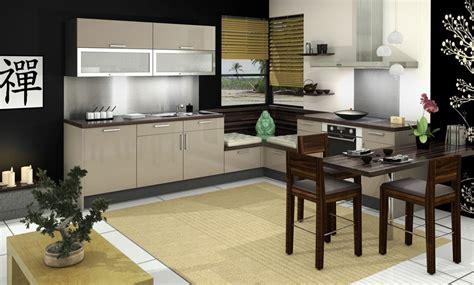 cuisine beige et bois cuisine vitaminée glossy glam noir beige idée de