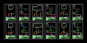 Electrical Circuit Diagram In Autocad