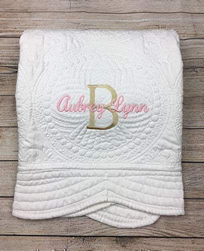 amazoncom personalized baby quilt blankets monogrammed