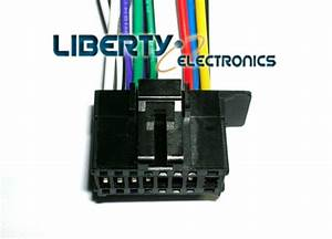 New 16 Pin Auto Stereo Wire Harness Plug For Pioneer Avh