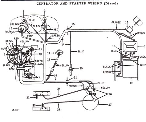 4230 Deere Wiring Diagram by Need Wiring Diagram For Deere 4020 24v