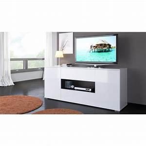 Meuble Tele Haut : meuble tele haut maison et mobilier d 39 int rieur ~ Teatrodelosmanantiales.com Idées de Décoration