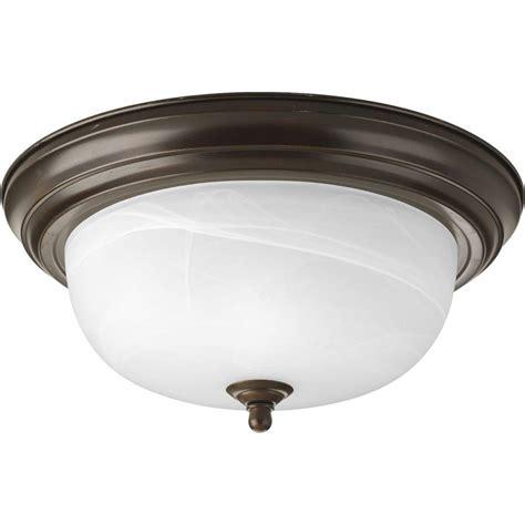 patriot lighting home depot progress lighting 2 light antique bronze flushmount p3925