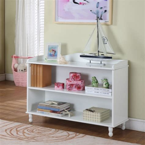 white childrens bookshelf inroom designs white bookcase bookcases at hayneedle 1014