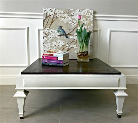 Here we present you diy farmhouse coffee table ideas from cute cubes to industrial wooden spools. DIY Farmhouse Style Coffee Table Makeover - Abbotts At Home