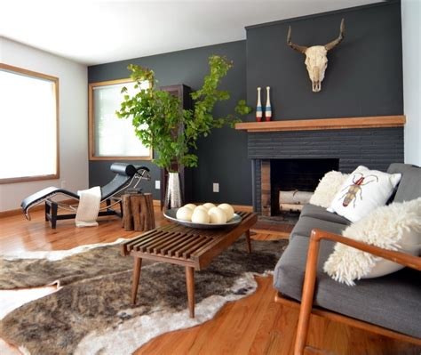 Living Room Accent Wall Fireplace by 15 Inspirations Of Wall Accents For Fireplace