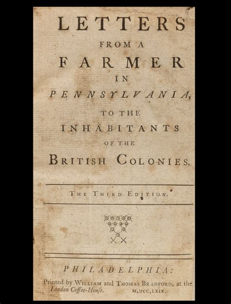letters from a farmer in pennsylvania letters from a farmer in pennsylvania american 37685