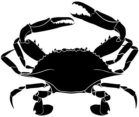 A printable pdf version of the flag is also available. Crab Silhouette | Clipart Panda - Free Clipart Images
