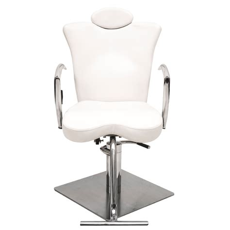 makeup chair iii white comfortel