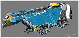 Small cargo spaceship. by Tinnenmannetje on DeviantArt