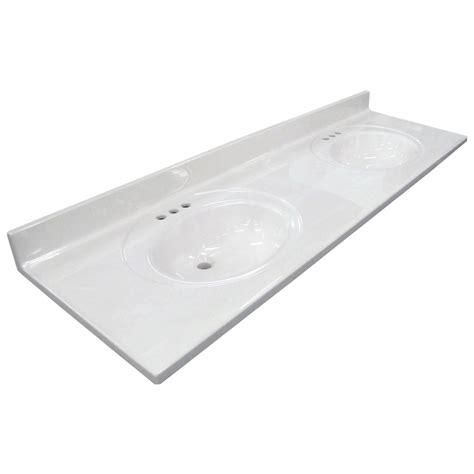 19 inch width bathroom vanity shop us marble ambassador 101 white on white cultured