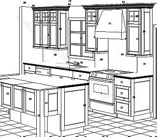 kitchen cabinet design drawing cabinetry design planning ideas guides to design 5228