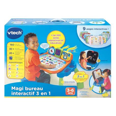 bureau vtech magi bureau interactif 3 en 1 vtech jouets 1er âge