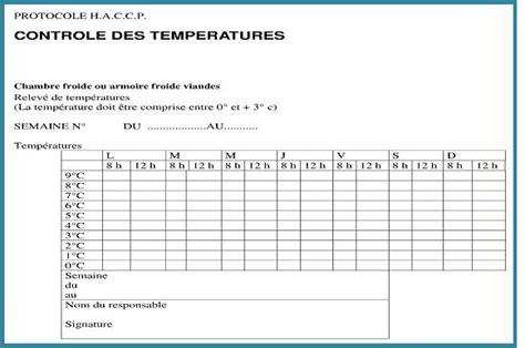 relevé temperature chambre froide le contrôle de la température restovigil fr