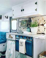 Vintage Camper Trailer Interiors