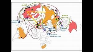 P U00f4les Et Flux De La Mondialisation  Term Es  L - Croquis N U00b01