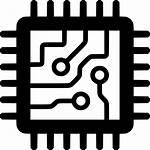 Chip Icon Computer Circuit Microchip Semiconductor Processor