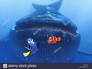 DORY MARLIN & BLUE WHALE FINDING NEMO (2003 Stock Photo ...