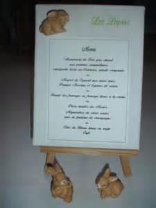 menu pour mariage idées déco pour une table de mariage l 39 armoire de léo et un de maman