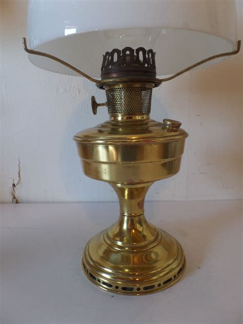 vintage antique aladdin model 12 brass oil kerosene