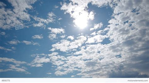 Spectacular Sky Clouds Beautiful Timelapse 4k Uhd Stock