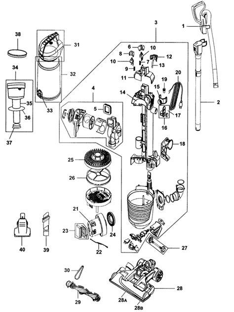 uh air pro steerable vacuum parts