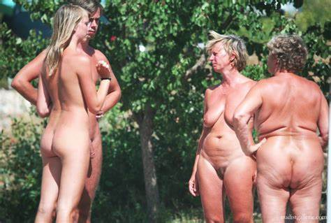 Sweet Nudist Chicks Are Being Filmed On The Outdoor