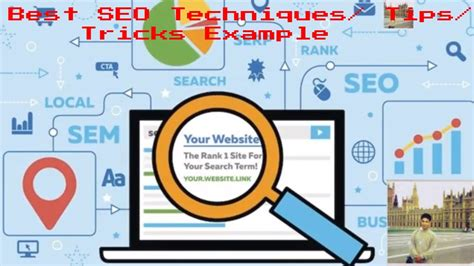 Best SEO Techniques/ Tips/ Tricks Example - YouTube