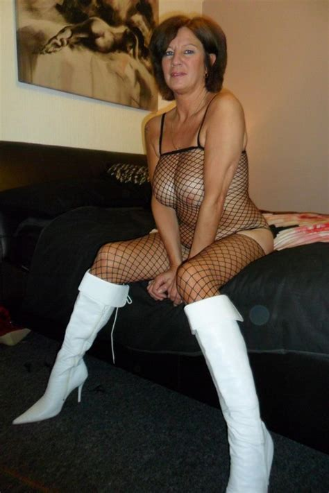 British Milfs Love The White Boots And Fishnets Interracial Sex