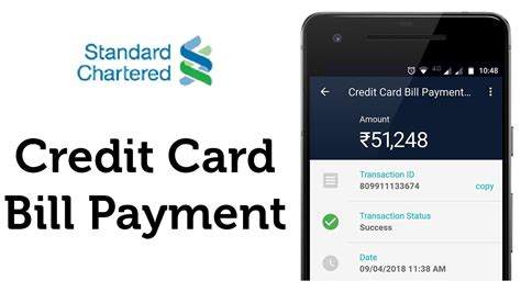 Pay your hdfc bank credit card bill from any other bank account through neft using credit card ifsc code. Standard Chartered Bank (SCB) Credit Card Bill Payment in ...
