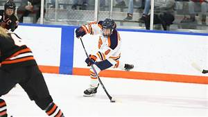 Syracuse Ice Hockey: Grossi's Hat Trick Leads Orange to ...