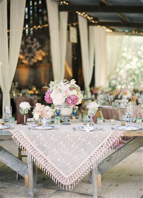 beautiful table settings   party