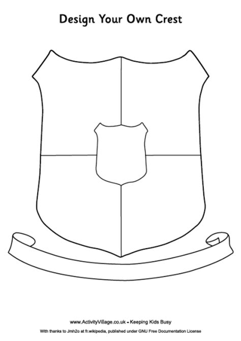 design a family crest pin family crest templates on