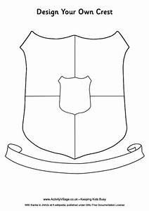 slytherin house crest coloring page With make your own coat of arms template
