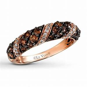 jared le vian ring 1 cttw chocolate diamonds 14k With le vian chocolate wedding rings