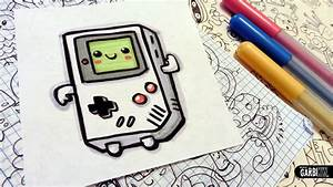 How To Draw a Cute Game Boy - Easy and Kawaii Drawings by ...