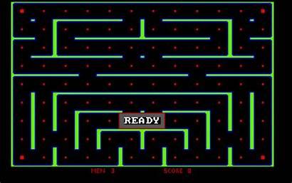 Pac Qbasic Archive Pacman Screenshot Animated