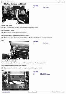 John Deere X710  X730  X734  X738  X739 Signature Series