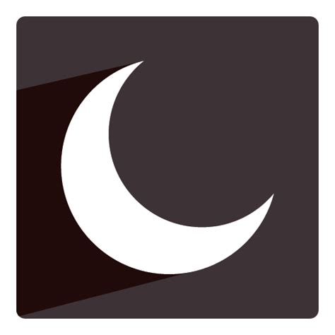 crescent moon icon in messages what does it macreports curved crescent moon icon free icons