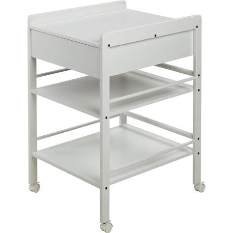 siege baignoire bebe table à langer avec tiroir avant blanche lotta de geuther