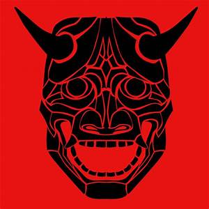 Japanese Oni Mask by torikpresto on DeviantArt